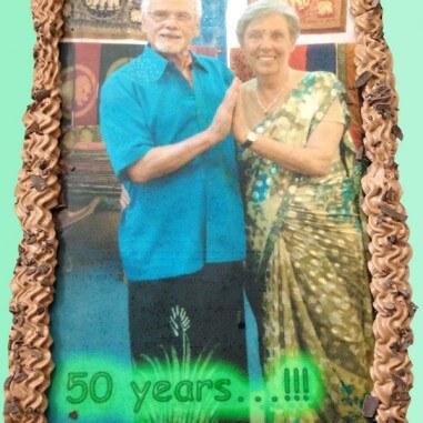 Fototorte 50 years