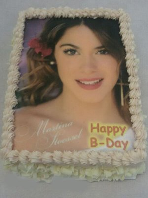 Fototorte Happy B-Day